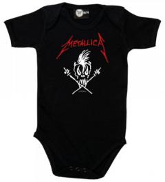 Metallica baby romper Seek and Destroy